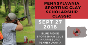 2018 Pennsylvania Sporting Clay Scholarship Classic Banner