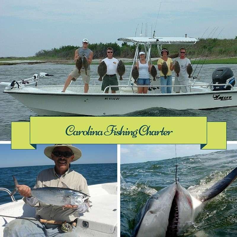 Carolina beach coastal fishing charters targeting excellence for Carolina beach fishing charters