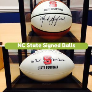 NC State Signed Balls