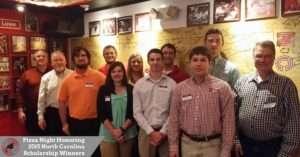 2015 North Carolina Scholarship Winners