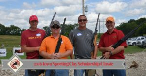 2016 Targeting Excellence Iowa Sporting Clay Scholarship Classic