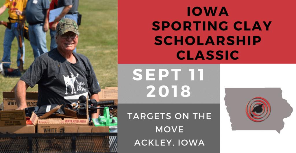 2018 Iowa Sporting Clay Scholarship Classic Banner