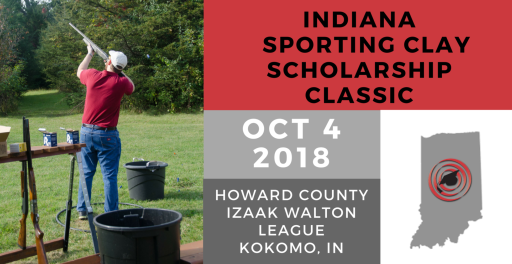 2018 Indiana Sporting Clay Scholarship Classic Banner