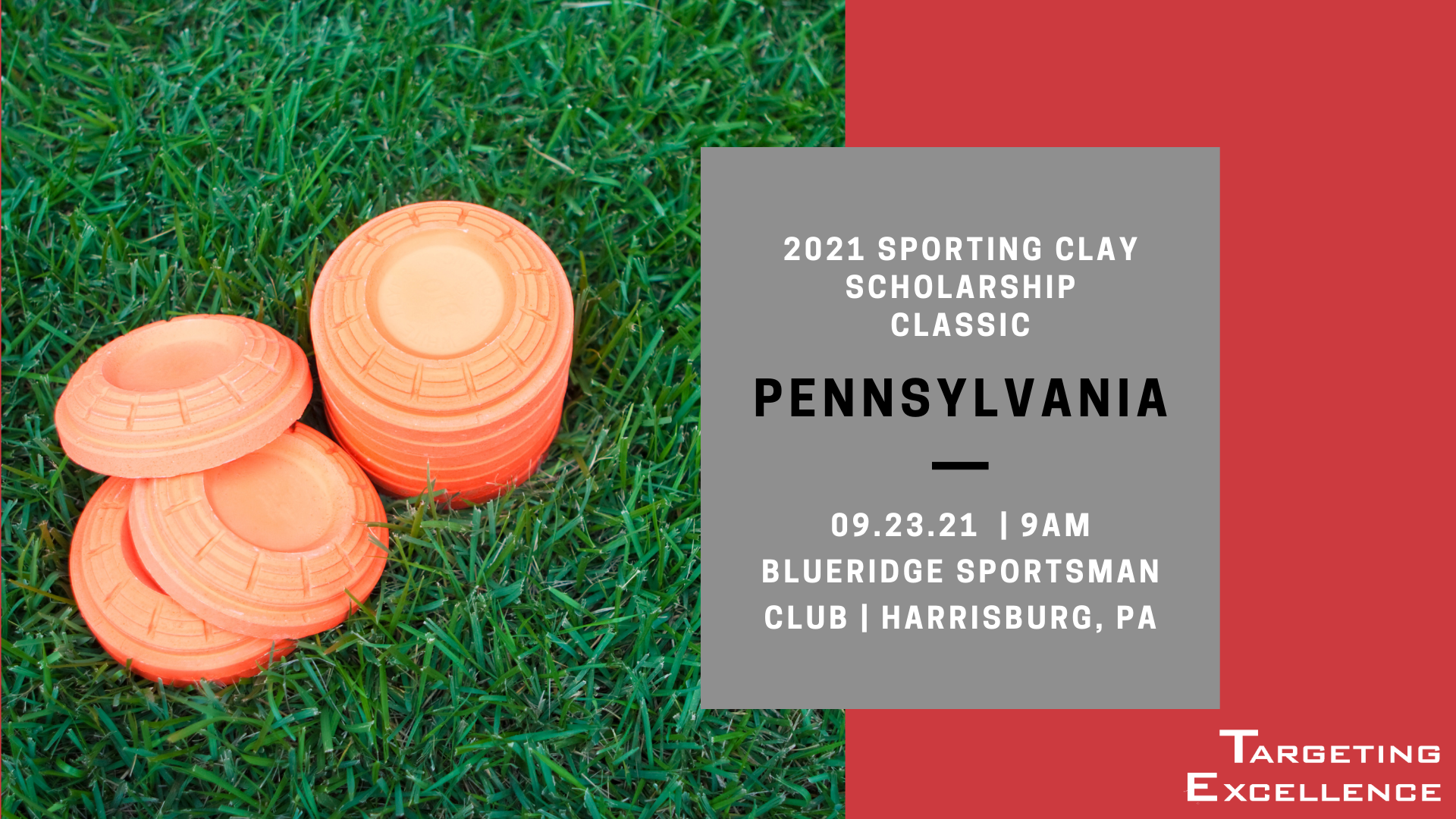 2021 Pennsylvania Targeting Excellence Sporting Clay Scholarship Classic