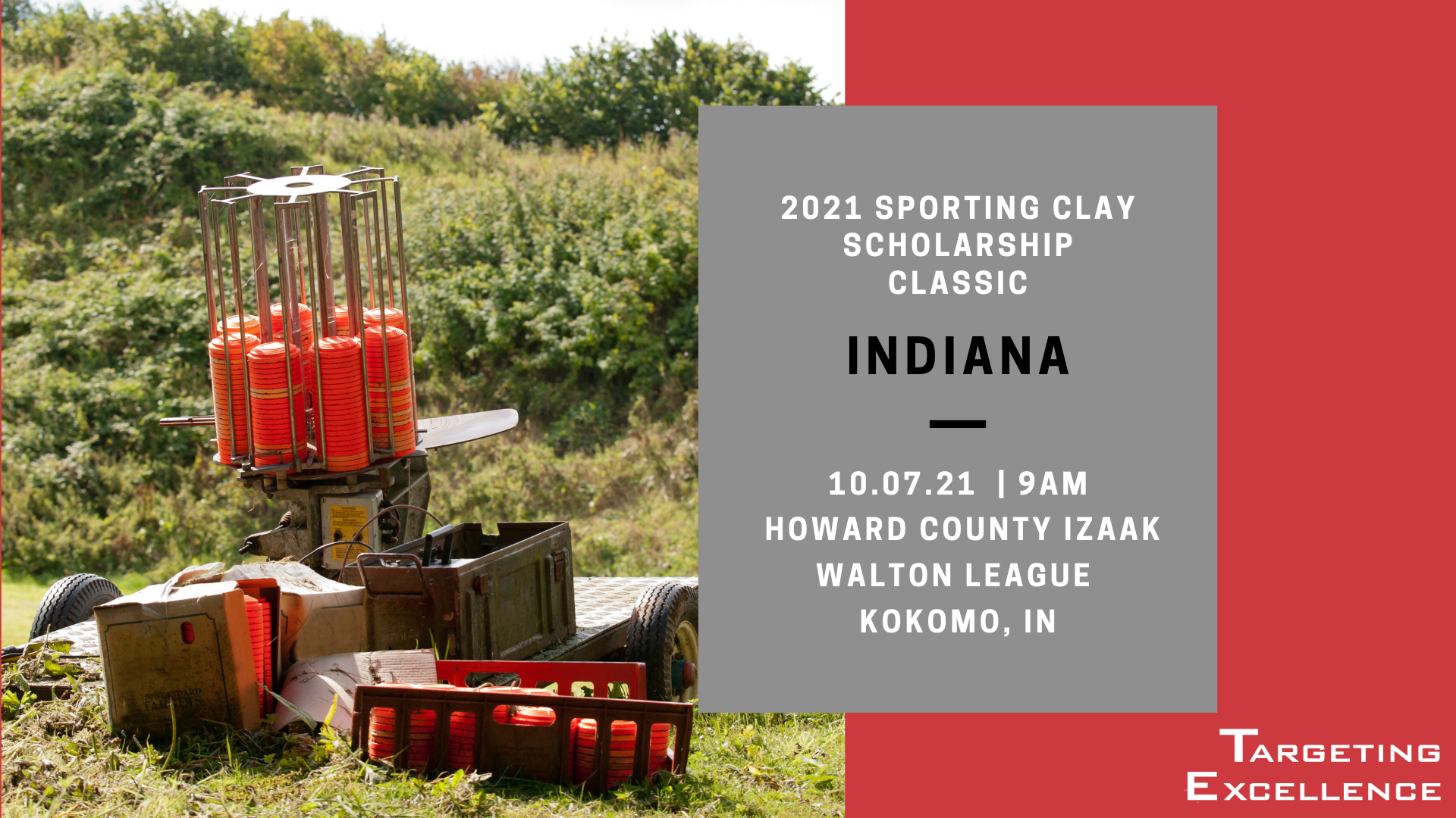 2021 Indiana Targeting Excellence Sporting Clay Scholarship Classic