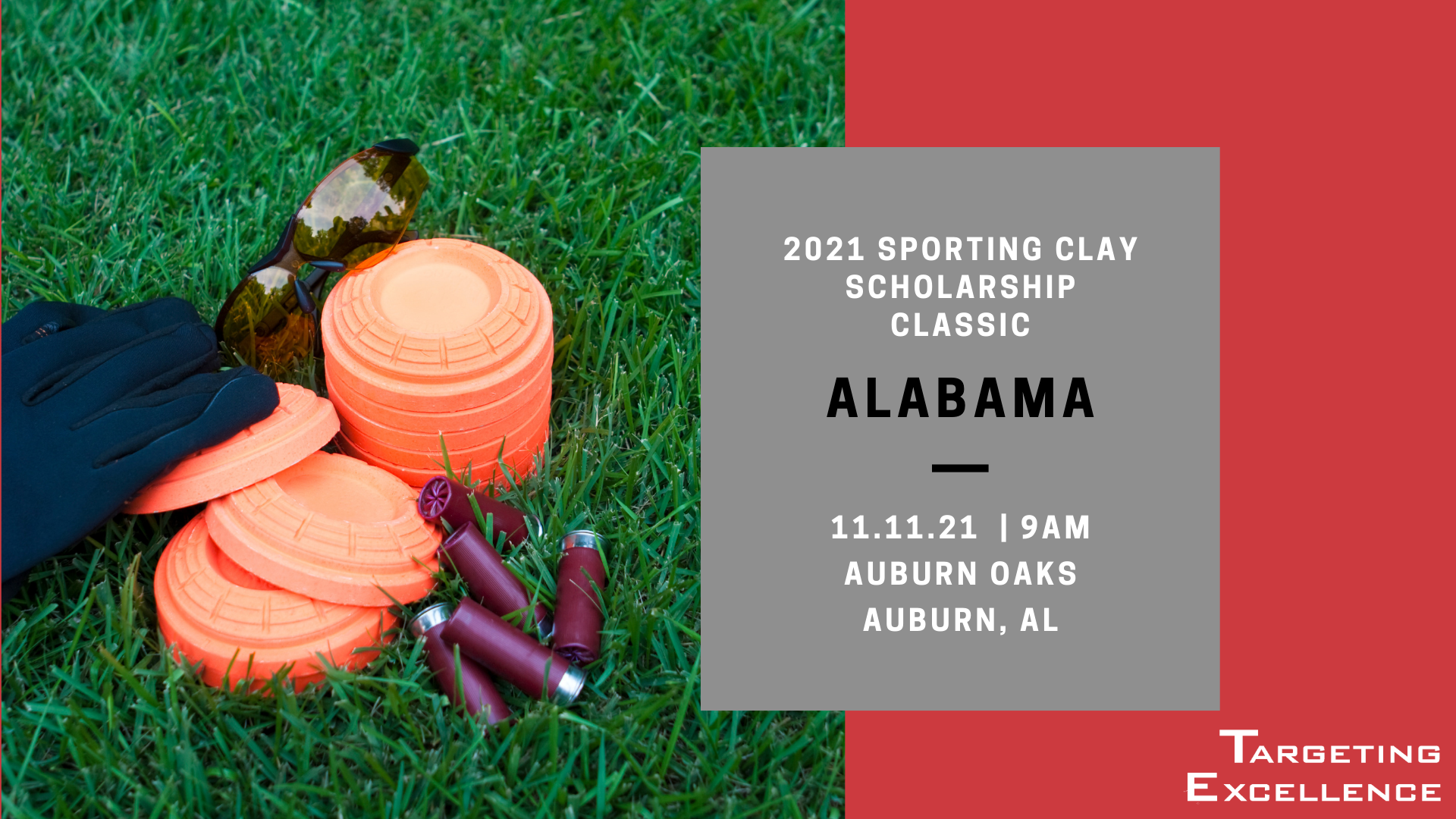2021 Alabama Targeting Excellence Sporting Clay Scholarship Classic
