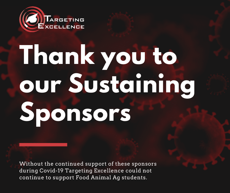 Thank you Sustaining Sponsors During Covid 19